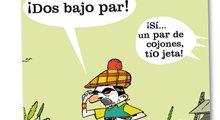 Aznar y el golf