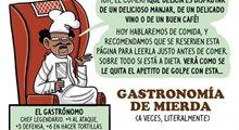 Deshechos históricos: gastronomía de mierda