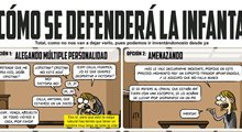La defensa de la infanta