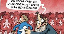 Para Rajoy la infanta es inocente