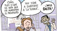 Pablo Iglesias, el espléndido