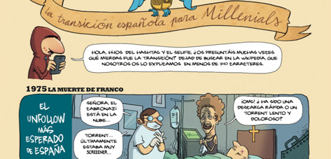 La transición española para millenials