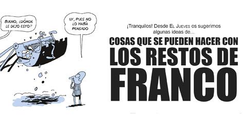 ¿Qué hacemos con Franco?