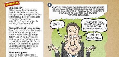 Editorial: el fiscal Moix