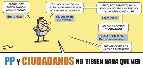 PP vs Ciudadanos