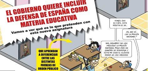 Defensa en los colegios