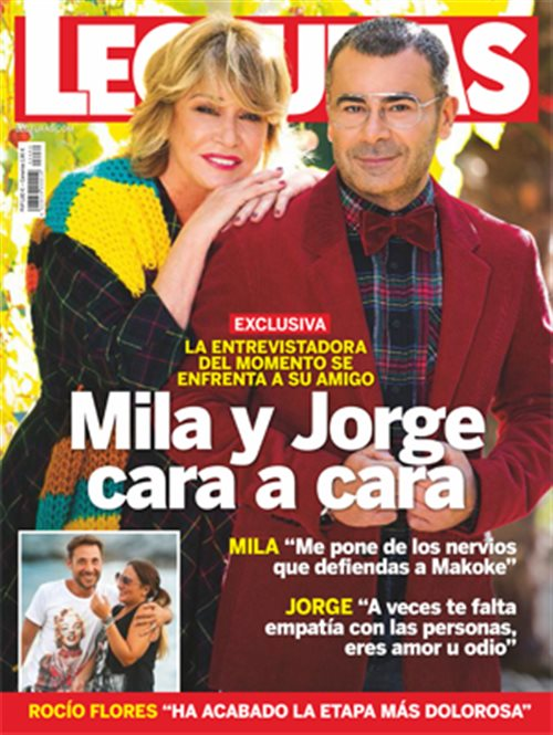 Mila y Jorge cara a cara