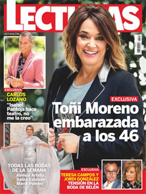 Toñi Moreno embarazada