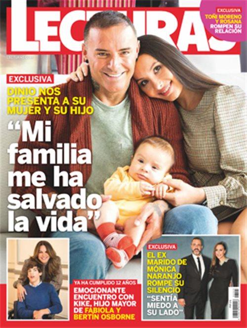 Dinio nos presenta a su mujer y su hijo
