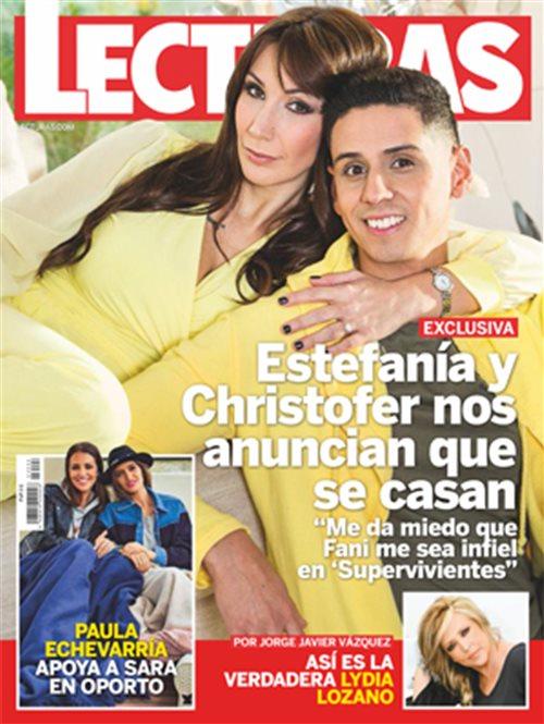 Estefanía y Christofer nos anuncian que se casan