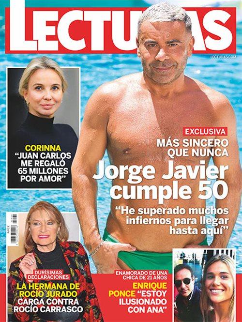Jorge Javier cumple 50
