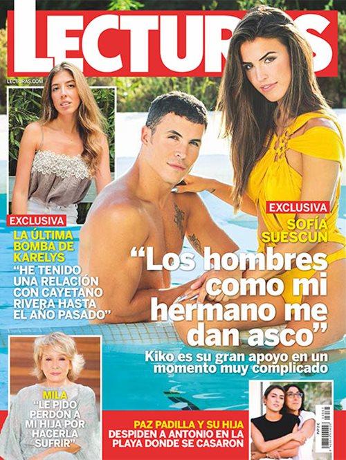 """Sofía Suescun """"Los hombres como mi hermano me dan asco"""""""