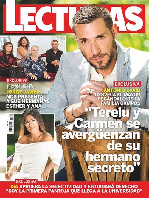 Antonio David desvela el mayor escándalo de la familia Campos