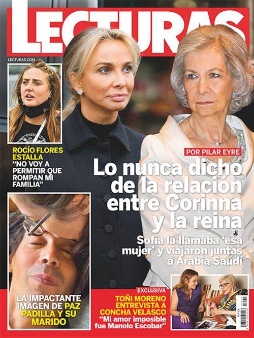 Lo nunca dicho de la relación entre Corina y la Reina