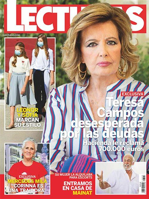 Teresa Campos desesperada por las deudas