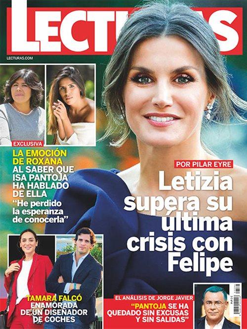 Letizia supera su  última crisis con Felipe