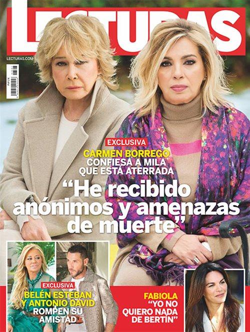 Carmen Borrego confiesa a Mila que esta aterrada
