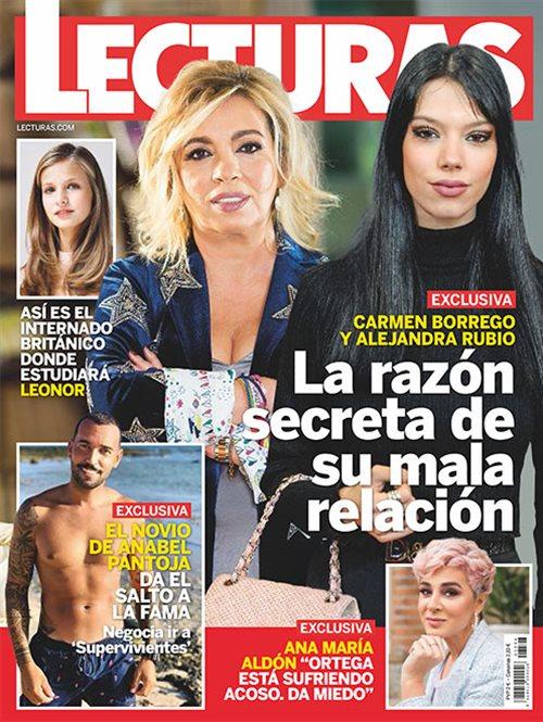 Carmen Borrego y Alejandra Rubio, la razón secreta de su mala relación