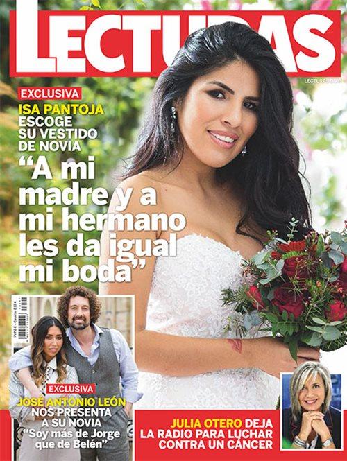 Isa Pantoja escoge su vestido de novia