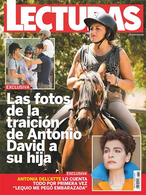 Las fotos de la traición de Antonio David a su hija