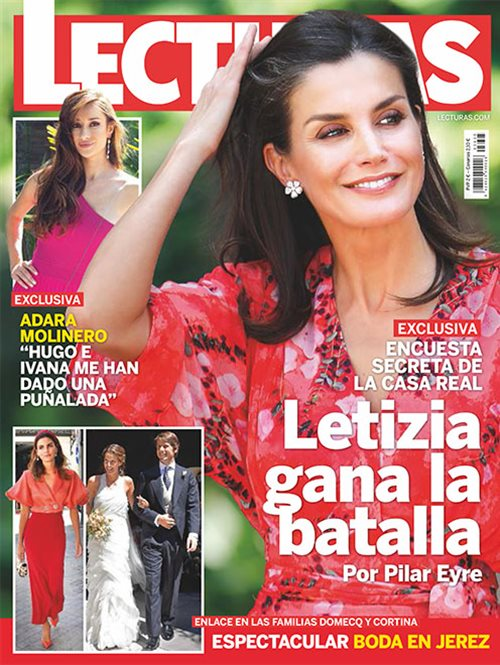 Letizia gana la batalla por Pilar Eyre